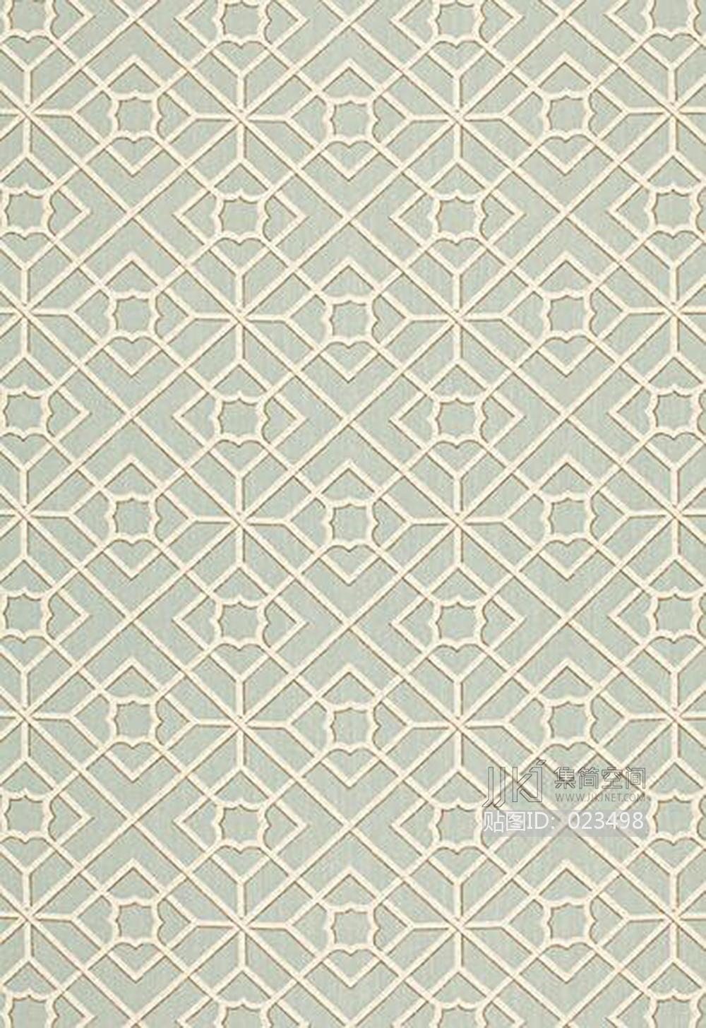 新中式古典花纹纹样图案地毯贴图 (64)[模型id:023498]