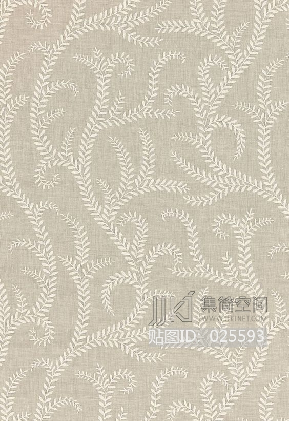 田园风格 欧式田园乡村碎花大花纹理壁纸布料 (291)[贴图id:025593]