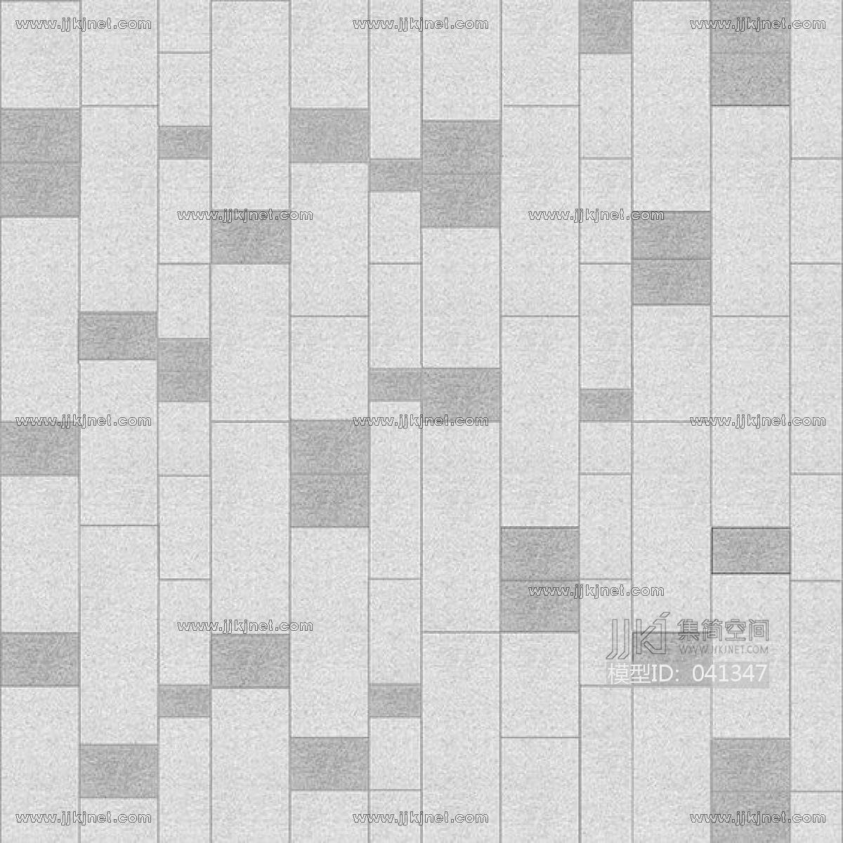 室外地面铺砖贴图_室外户外地铺广场园林步道砖地面地铺a (16)-【集简空间】3d模型 ...